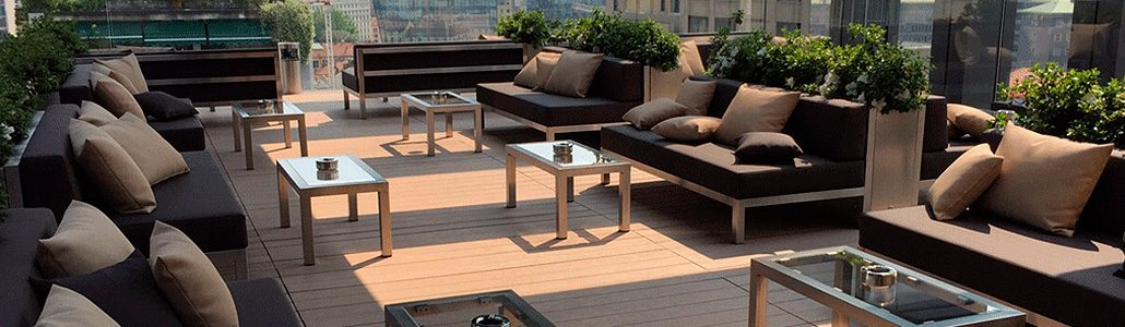 Covered terraces decking Disegna